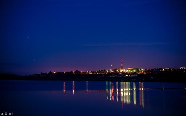 Цветная ночь на ГАЭС