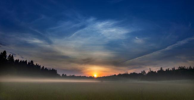 Маньковский закат