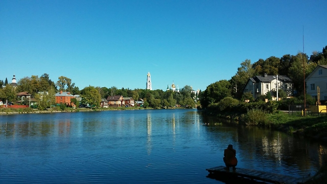 Бабье лето на Келарском пруду