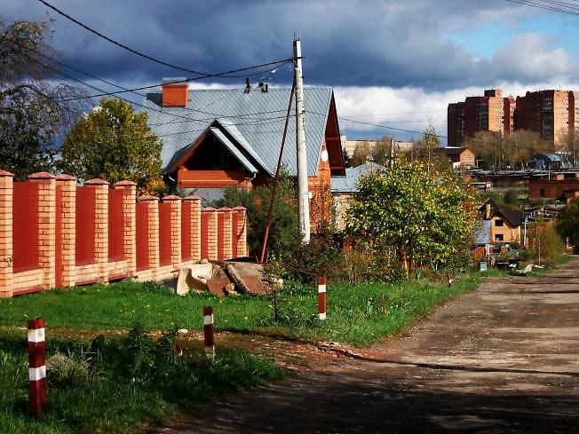 Сергиев-Посад. Район Долгокукуевской улицы.