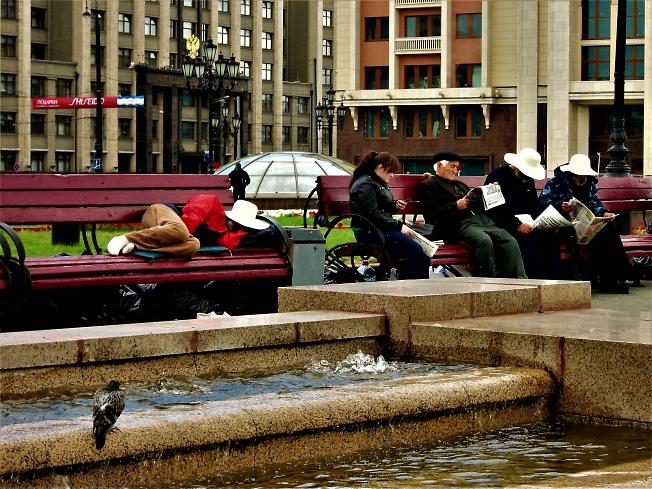 Москва.Охотный ряд.