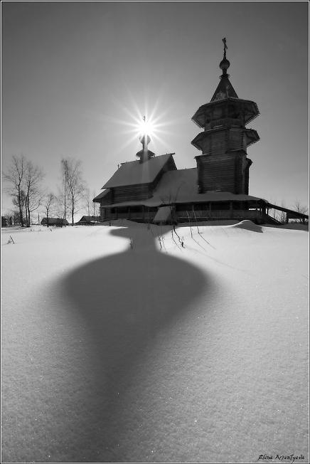 Храм в селе Благовещенье