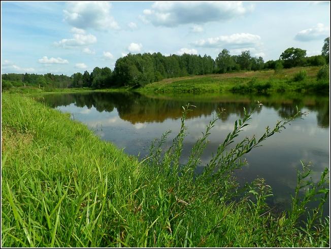 Озеро на рч. Черемушке в урочище Кобылино