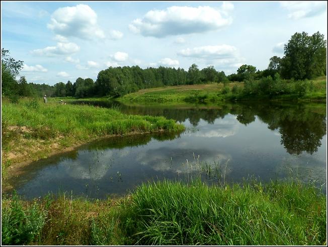 Озеро в урочище Кобылино