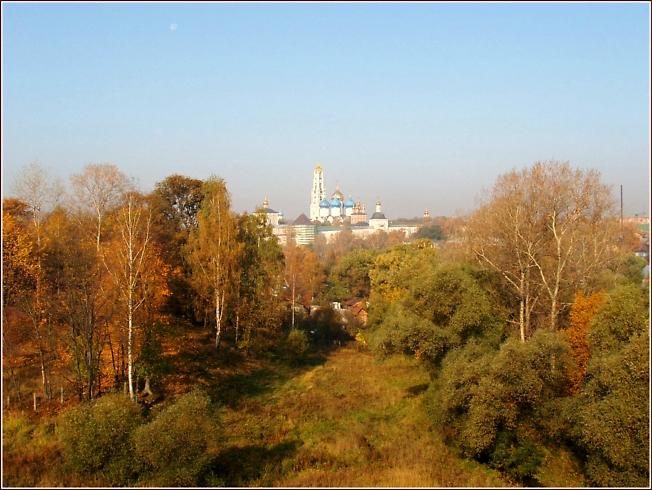 Обитель на Маковце. Осень