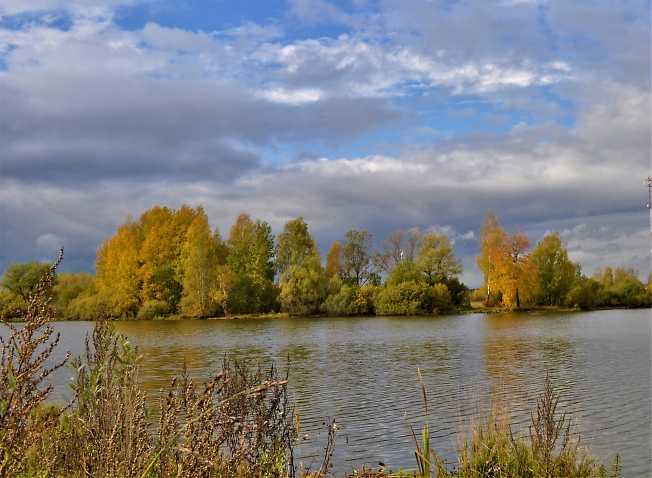 Осень красуется...