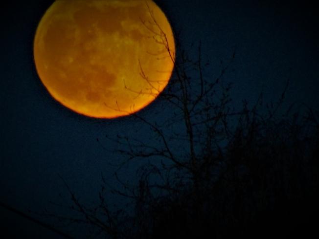 Луна играет в прятки