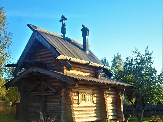 Часовня -крестильня прмч. Кронида Радонежского ( Любимова) с. Воздвиженское