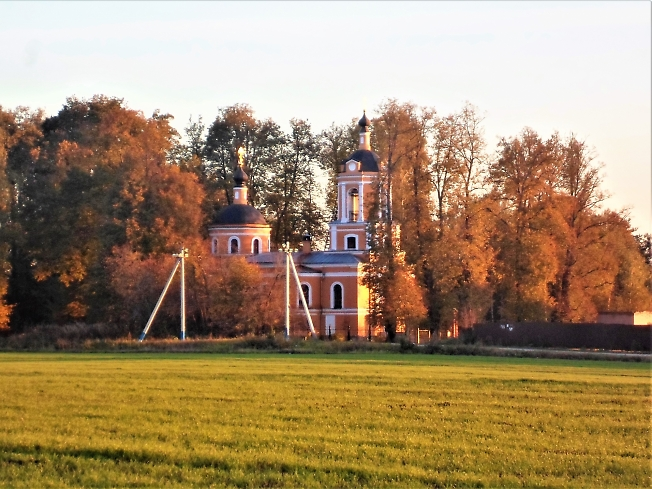Храм  образа Спаса Нерукотворного, д. Спасс-Торбеево
