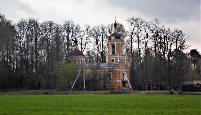 Храм Нерукотворного Образа Спаса, д.Спасс-Торбеево