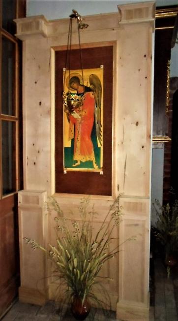 В храме Нерукотворного образа Спаса, д. Спасс-Торбеево