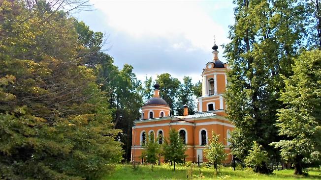 Храм Нерукотворного Образа Спаса в д. Спасс-Торбеево