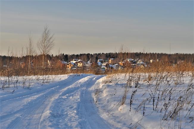 Зимняя дорога домой
