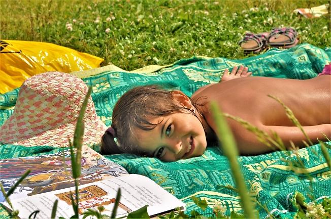 Лето. Под ласковым солнцем