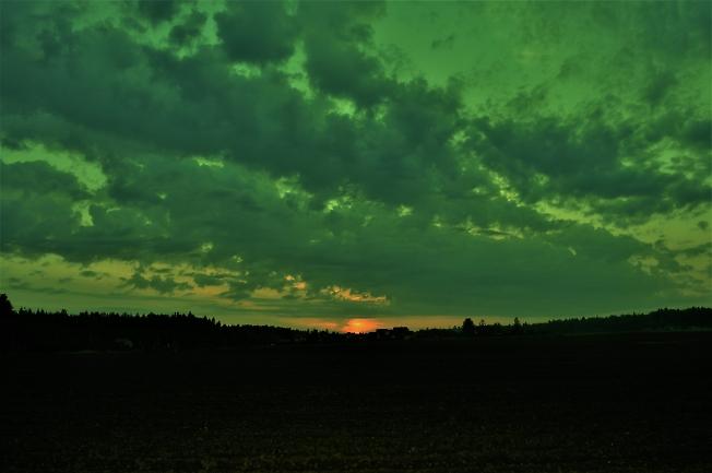 Бирюзовый рассвет