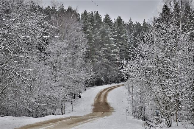 Дорога на Спасс-Торбеево