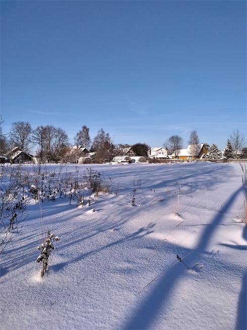 Засиделась зима...