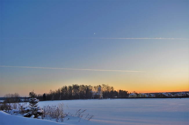 Зимний, студеный вечер