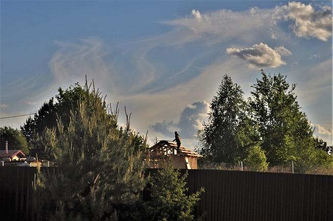 Работа в облаках...