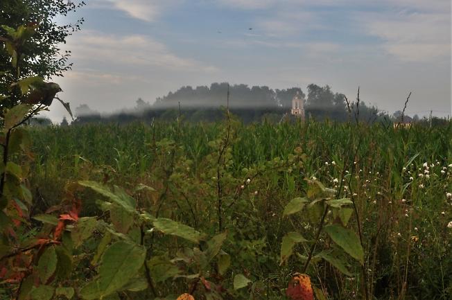 Осень крадется с туманами!