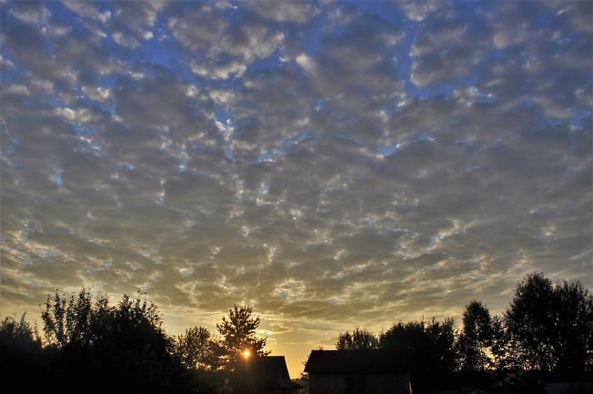 Небо на рассвете