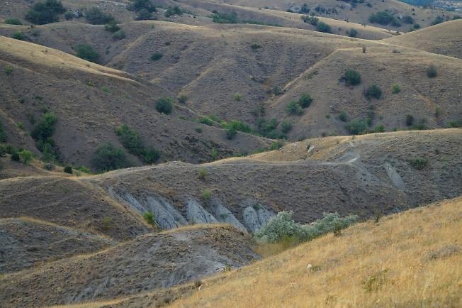 Холмы у Экчи-даг