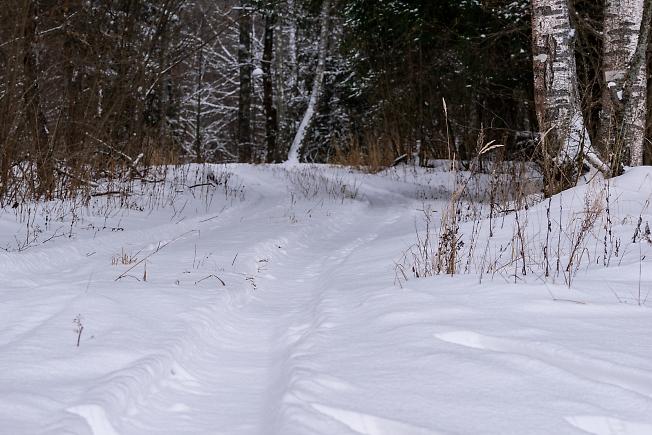 Зима на работе )