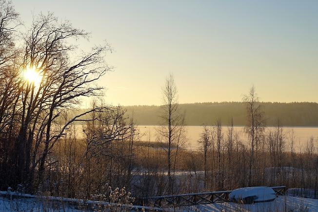 Рассвет над оз. Суходольским-3