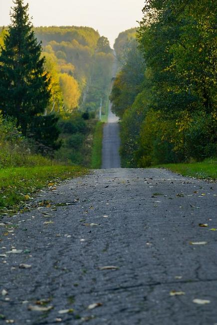И снова осенними дорогами