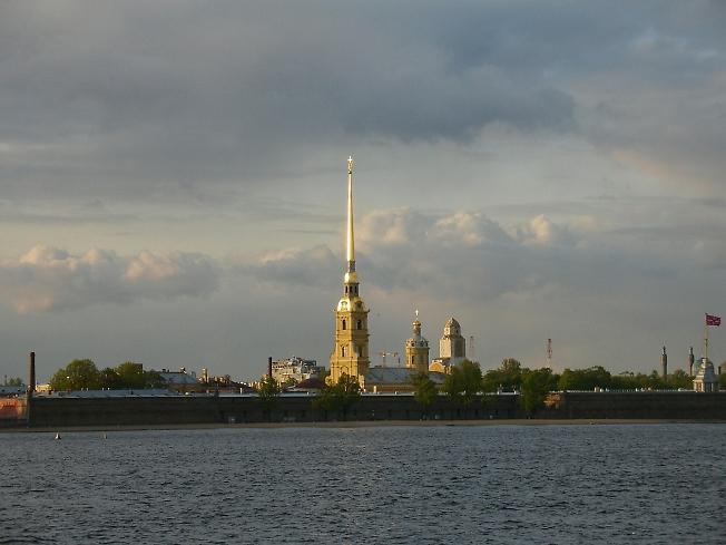 Петропавловская крепость.