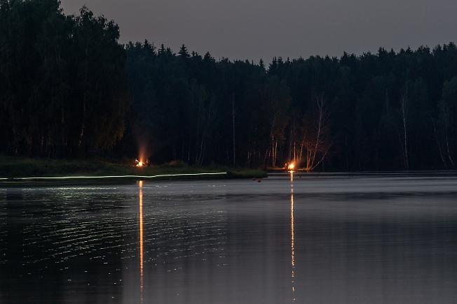 Вечер на Лесном озере