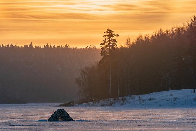 Ранним утром на Торбеевском