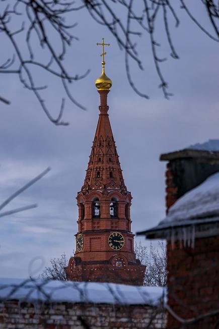 Колокольня Черниговского Скита