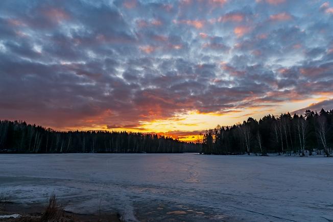 Рассвет над Лесным