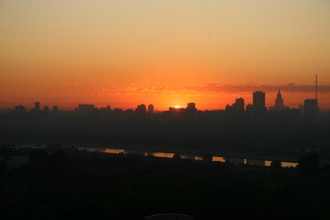 Восход.