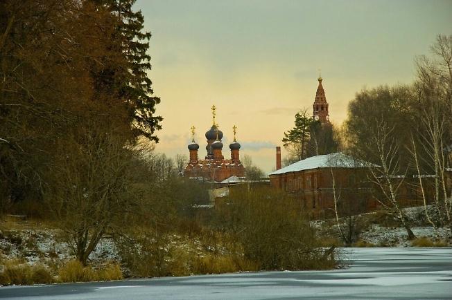 Черниговский скит.ноябрь 2007.