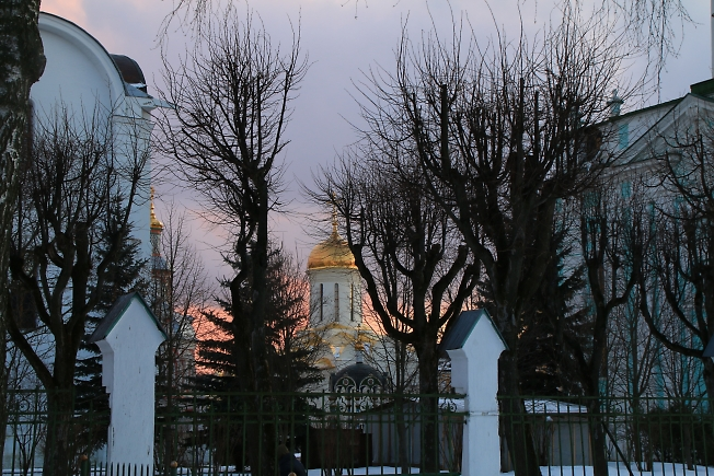Троицкий собор, вид от МПДА