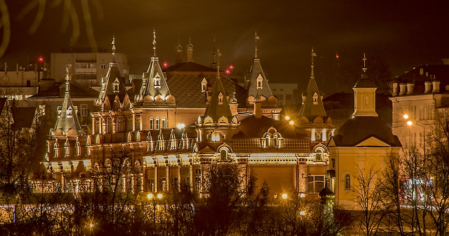 Красные палаты.