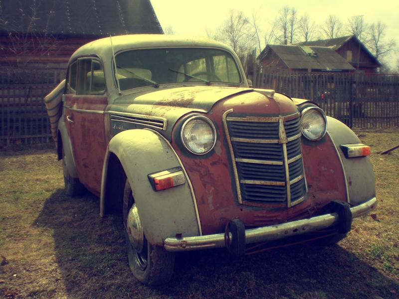 точно фото старых авто москвич может