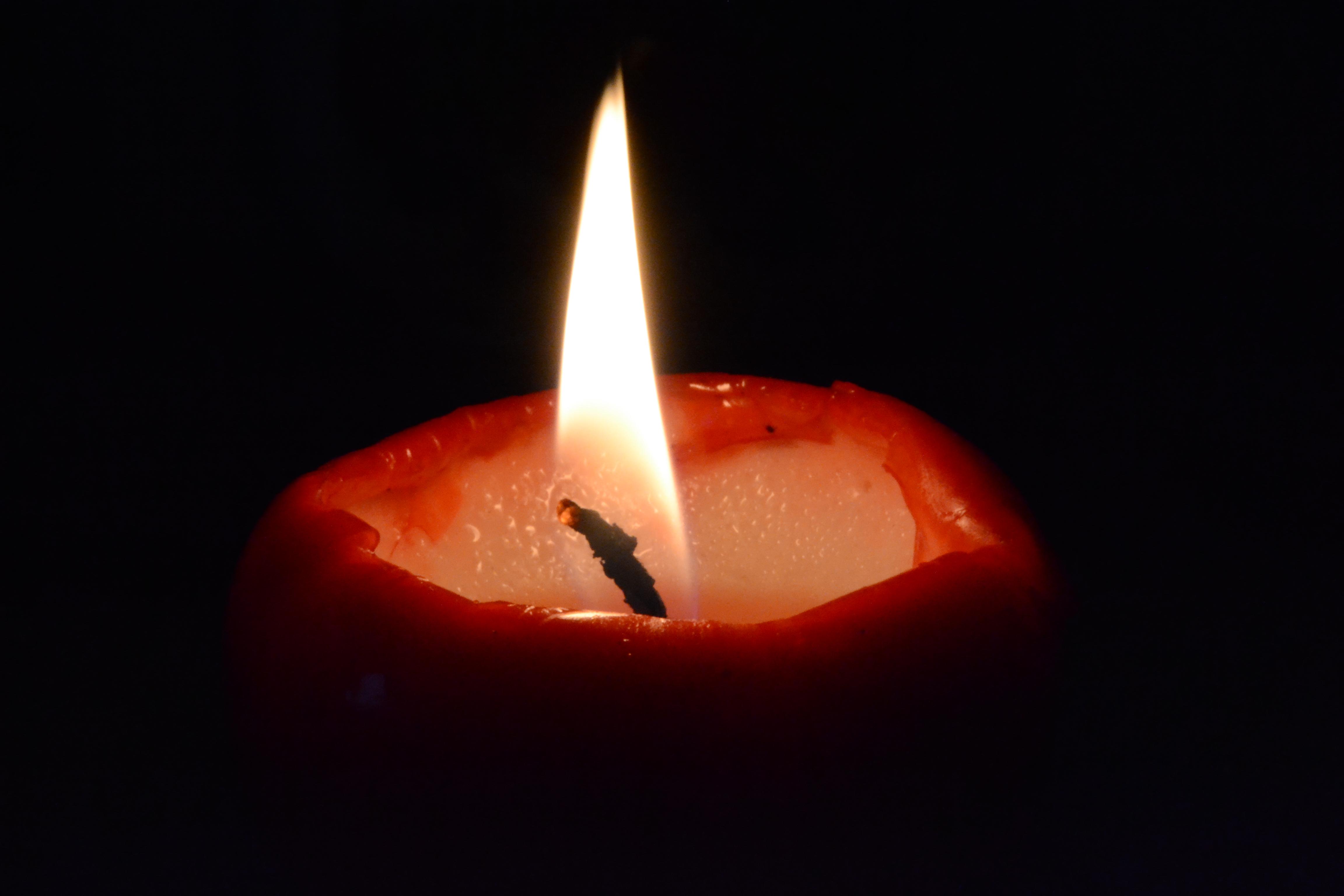 Картинка свеча и слезы
