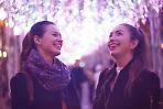 Прогуляться с друзьями по вечернему городу;)