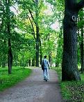 По Гатчинскому парку на колесе