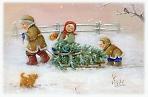 Открытие выставки детских рисунков «НОВОГОДНЯЯ СКАЗКА». Студия изобразительного искусства Людмилы Борисовой.