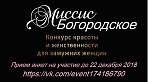 "Конкурс ""Миссис Богородское"""