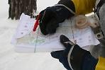 Открытое первенство г. Серигев Посад по спортивному ориентированию на лыжах.