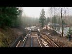 Работы на плотине Лесного озера продлили до 13 декабря