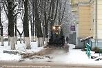 Дорожники в Сергиевом Посаде ликвидируют последствия снегопадов
