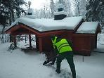 Снег расчищают в штатном режиме