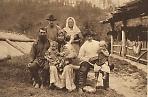 Семья старожилов-староверов на р. Мане