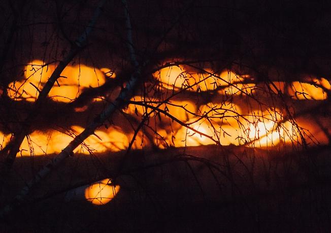 апрель 2018, запалили траву